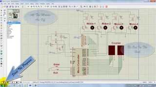 getlinkyoutube.com-Microcontroller 8051 PERSON COUNTER proteus simulation