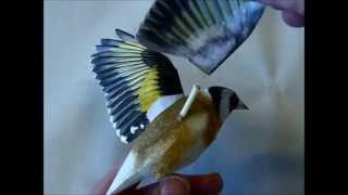 getlinkyoutube.com-Incredibly realistic 3d papercraft bird