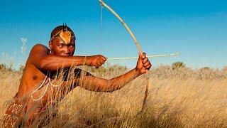 getlinkyoutube.com-Top 5 Kalahari Bushmen VS Ravenous Leopard Tribe Documentary