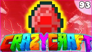 """getlinkyoutube.com-Minecraft CRAZY CRAFT 3.0 SMP - """"ULTRA RARE RED DIAMOND (SuperHero Mod)"""" - Episode 93"""