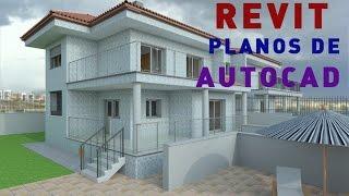getlinkyoutube.com-Trabajar con Revit Architecture a partir de planos de Autocad