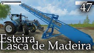 getlinkyoutube.com-Farming Simultaor 2015 Esteira para Lasca de Madeira #47