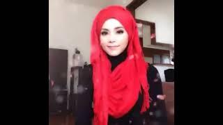 getlinkyoutube.com-🌟Hijab Tutorial-18🌟 Cara Memakai Jilbab Pashmina Simple Red Black Style (Up to date)