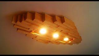 getlinkyoutube.com-Designer Lampe Modern Style selber machen