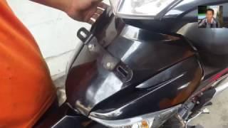 Cara Buka Cover Body Depan Supra 125 - Cara Bongkar Body Motor
