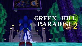 getlinkyoutube.com-Sonic GDK - Green Hill Paradise Act 2: Chaos Emeralds, Super Sonic, Secret & Hyper Sonic