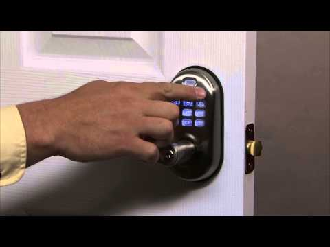 Yale Real Living Push Button Lever Lock Programming - User PIN Code Registration 02