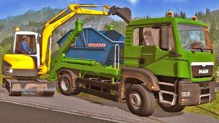 getlinkyoutube.com-Construction Simulator 2015 - Obra Residencial