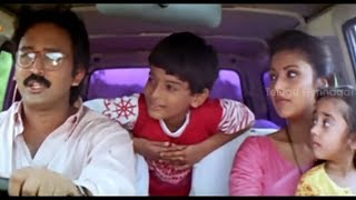 getlinkyoutube.com-Long Drive Scene - Little Soldiers Scenes - Brahmanandam, Baby Kavya
