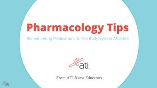 getlinkyoutube.com-Pharmacology Tips: Remembering Medications & The Body Systems Affected