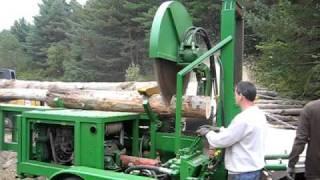 Charlies home made firewood processor