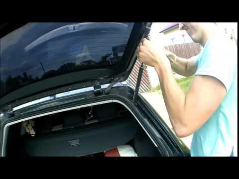 Автооткрытие двери багажника Audi A6 Allroad Air ride