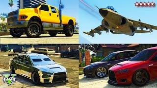 getlinkyoutube.com-GTA 5 NEW Heists DLC SHOWCASE! - Spending $5,000,000 GTA Heists DLC Buying & Customizing Everything