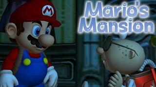 getlinkyoutube.com-MARIO'S MANSION [PLAYING AS MARIO IN LUIGI'S MANSION] ROM HACK - MARIO SAVES HIMSELF?!