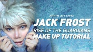 getlinkyoutube.com-Jack Frost Cosplay Makeup Tutorial (Rise of the Guardians)