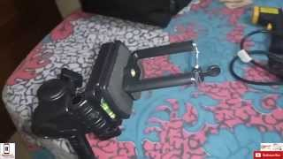 getlinkyoutube.com-[Hindi - हिन्दी] Mobile Holder Mount for Tripod (for youtube recording )