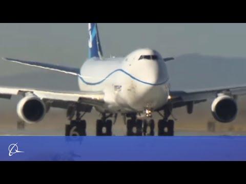New Boeing 747-8 undergoes extreme testing