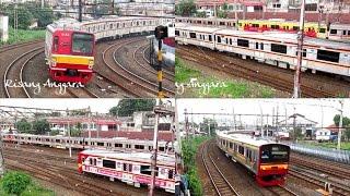 getlinkyoutube.com-[Kompilasi] Rush Hour at Jatinegara Station - KRL Commuter Line Jabodetabek
