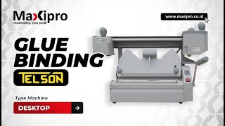 getlinkyoutube.com-Mesin Desktop Glue Binding - www.maxipro.co.id