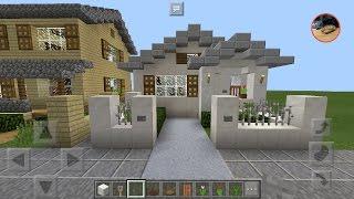 getlinkyoutube.com-MinecraftPE EasyBuild#2สอนสร้างบ้านสีขาวง่ายๆ