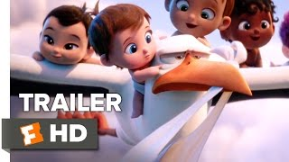 getlinkyoutube.com-Storks Official Trailer 3 (2016) - Andy Samberg Movie