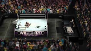 getlinkyoutube.com-The Undertaker vs. Brock Lesnar - WrestleMania 30 - WWE 2K14 Simulation