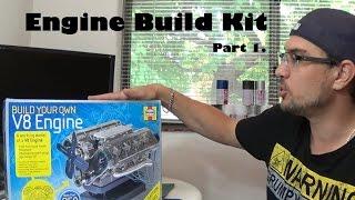 Engine Build (Part 1) - Haynes Model V8 Engine