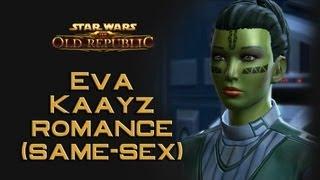 getlinkyoutube.com-SWTOR: Eva Kaayz Romance (same-sex version)