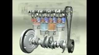 getlinkyoutube.com-4 Stroke Engine Working Animation