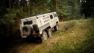getlinkyoutube.com-Volvo TGB13 6x6 - C304 Off-road in Russia, Poland, Finland and others