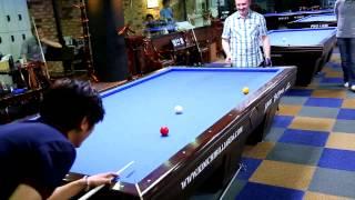 getlinkyoutube.com-Frédéric Caudron Billiard Trick Shot (2)