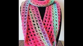 getlinkyoutube.com-Crochet : Bufanda Infinita # 5