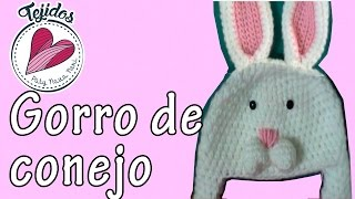 Gorro de conejo a crochet TUTORIAL | PatyNavaNeri