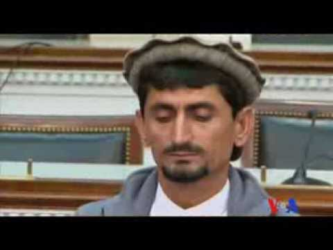 Drone Victims at the Hill - Tabinda Naeem - Urdu VOA