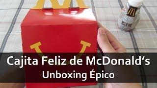 getlinkyoutube.com-Cajita Feliz de McDonald's | Unboxing Épico