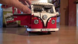 getlinkyoutube.com-Test Lego Set 10220: Volkswagen VW Bus T1 Campingbus (Review)
