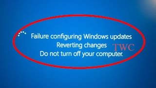 getlinkyoutube.com-How to fix Failure Configuring Windows Updates Reverting changes Do not turn off your computer