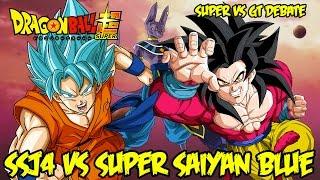 getlinkyoutube.com-Super Saiyan God Blue vs SSJ4! What Do You Like Better?! | Dragon Ball GT vs Super Debate