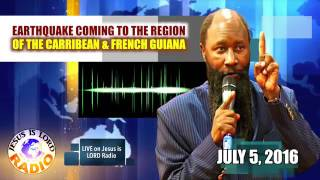 getlinkyoutube.com-EARTHQUAKE COMING TO THE REGION OF THE CARIBBEAN, FRENCH GUIANA, PROPHET DR. OWUOR!!