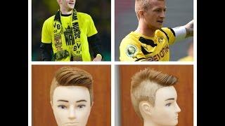 getlinkyoutube.com-Marco Reus 2014 Updated Haircut Tutorial
