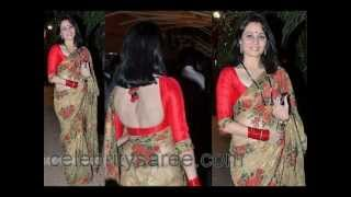 getlinkyoutube.com-Bollywood Actresses in Backless and Designer Sexy Blouses