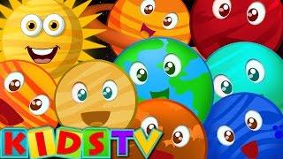 getlinkyoutube.com-Planet Song | Nursery Rhymes For Children | Kids TV popular kids songs