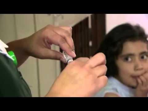 Vacunación en niños contra VPH