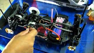 getlinkyoutube.com-Sanwa MT4 Telemetry with Magnetic field RPM sensor