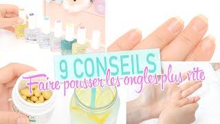 getlinkyoutube.com-9 conseils ♡ Comment faire pousser les ongles plus vite, avoir les ongles longss