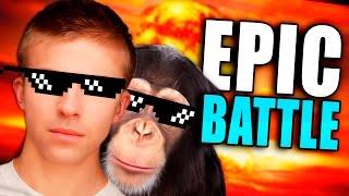 getlinkyoutube.com-BOIBOT VS CHIMBOT!!! BATALLA EPICA
