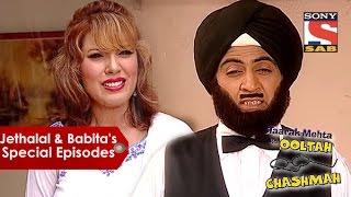 getlinkyoutube.com-Jethalal And Babita Comedy | Taarak Mehta Ka Oolta Chashma