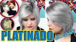 getlinkyoutube.com-CABELO PLATINADO EM CASA | 💇🏼 Do ruivo ao GRANNY HAIR | Tutorial