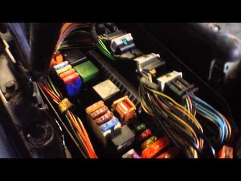 Mercedes-benz S320 (w220) Как проверить питание на пневмокомпрессор