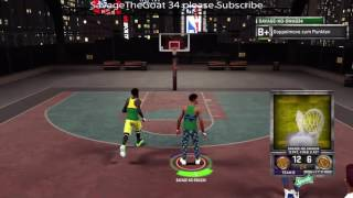 getlinkyoutube.com-SavageTheGoat vs Alontae165 1v1 Stage Gameplay